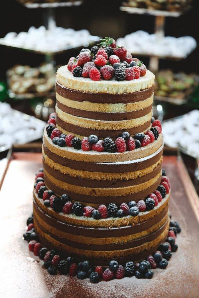 Pasteles de boda que romperán esquemas en 2015 - Foto L&L Style Photo
