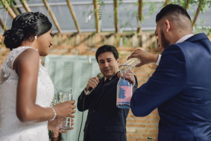 cerimônia de casamento diferente