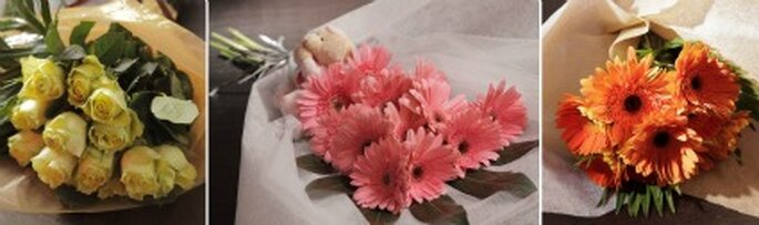 Ramos de novia   créditos: Flor Santa Clara