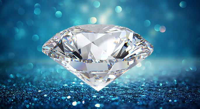 Diamant pour bague de fiançailles