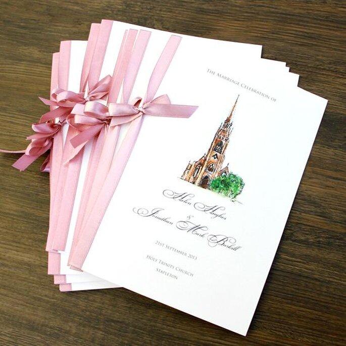 Eccezionale Libretti per la messa del matrimonio: tante idee per personalizzarli ZK85