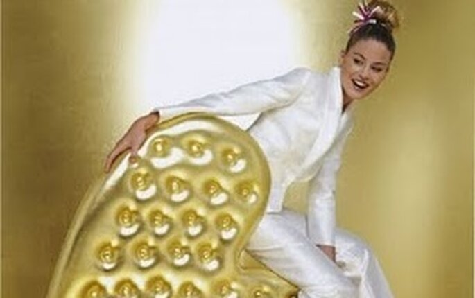 Tendance 2012 : se marier en pantalon