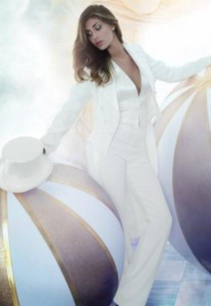 Modelo Frac de Alessandro Couture