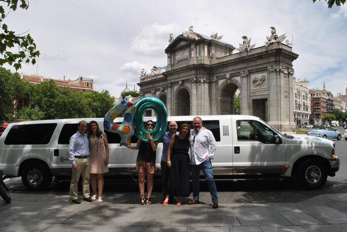 Alquiler de limusinas en Madrid para cumpleaños