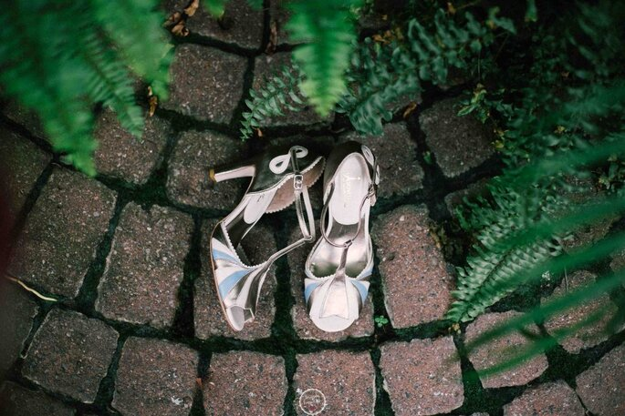 Sapato de noiva diferenciado