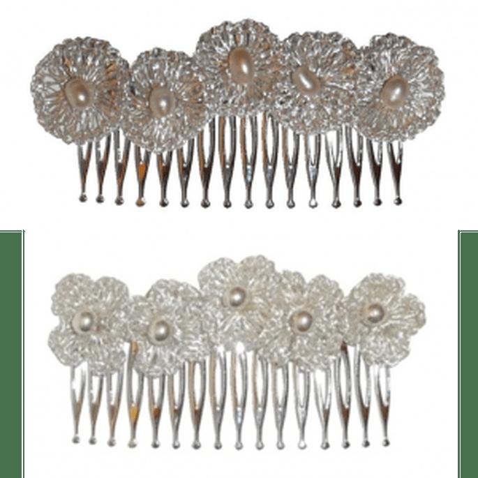 Accessoires pour coiffures de mariée Rosa Clará 2011 : peignes