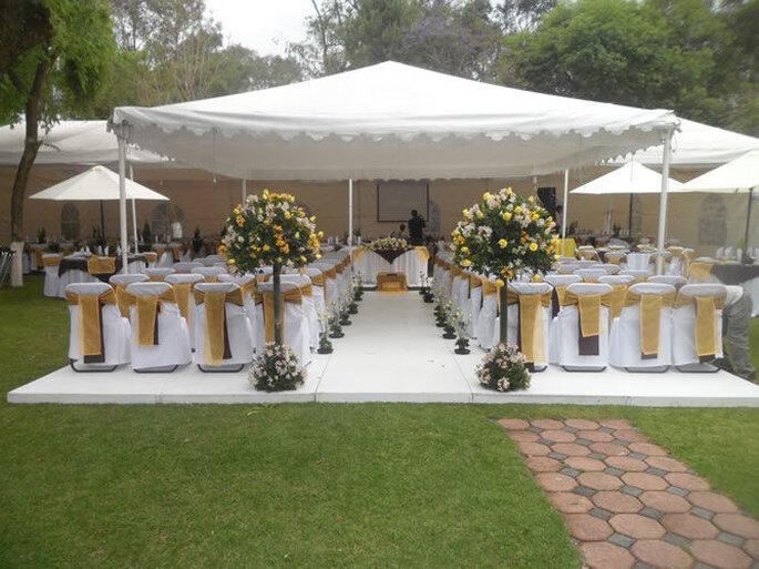 Jardín Courbeau jardín para bodas Ciudad de México
