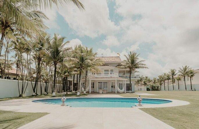 Beach House para destination wedding