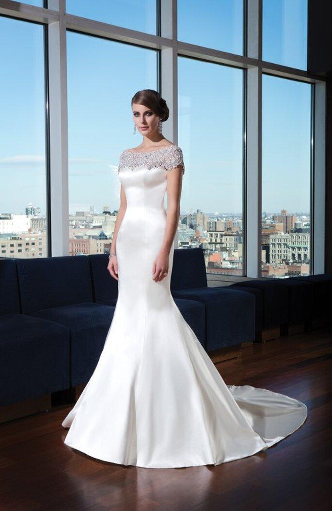 romantyczna suknia ślubna 2014