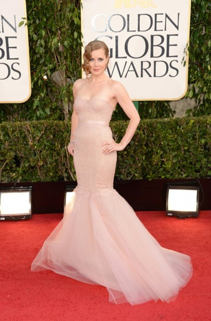 Amy Adams in Marchesa.