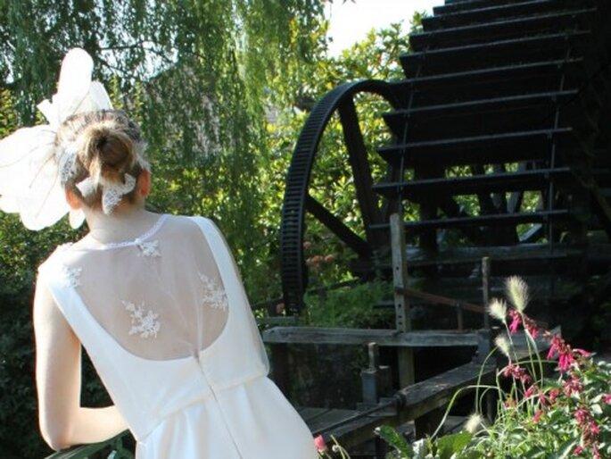 Robe de mariée sur mesure Pascale de Lavernette 2014 - Modèle : Mélanite