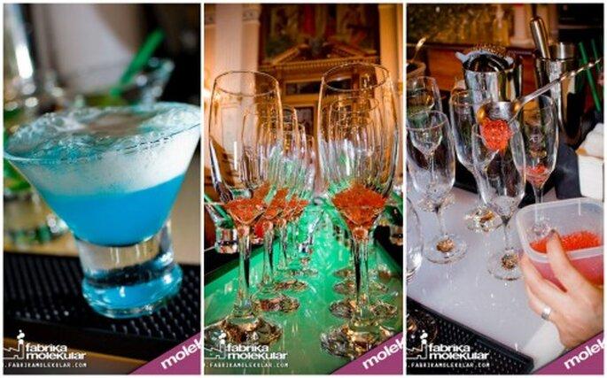 Bar y bebidas moleculares en el DF. Imágenes Fabrika Molekular
