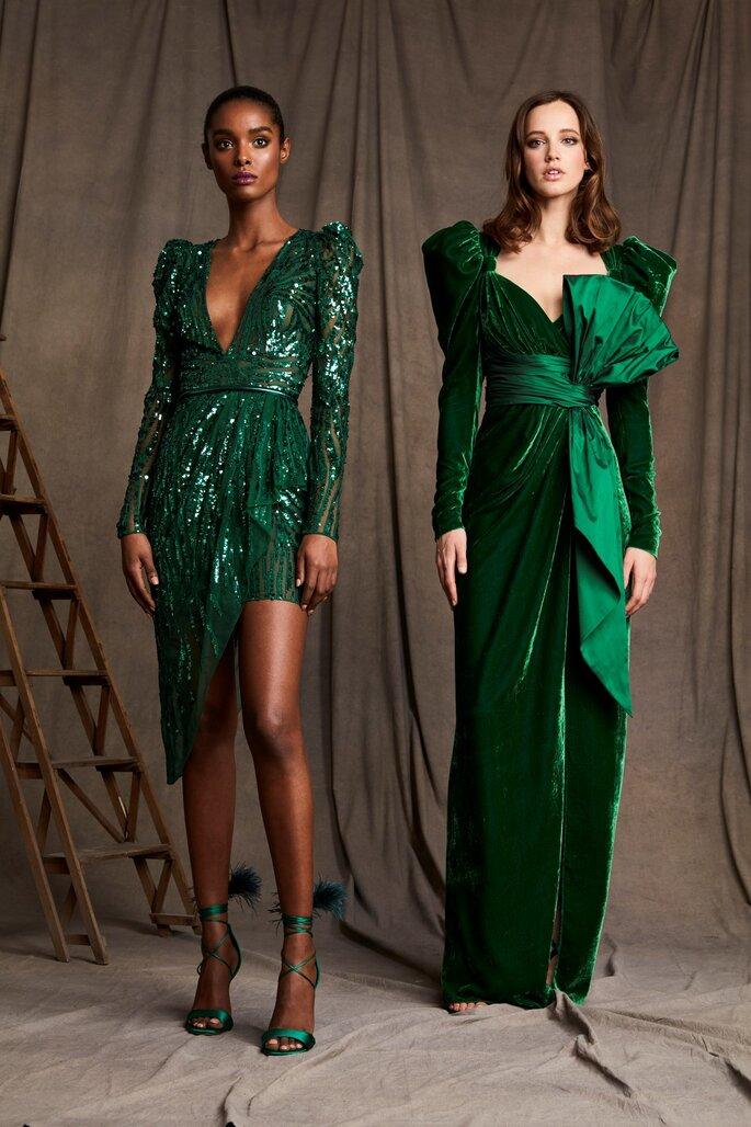 Vestidos de fiesta verdes