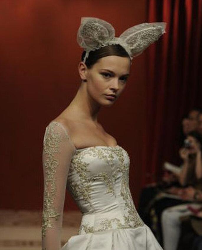 Original colección de novia de Reem Acra 2011