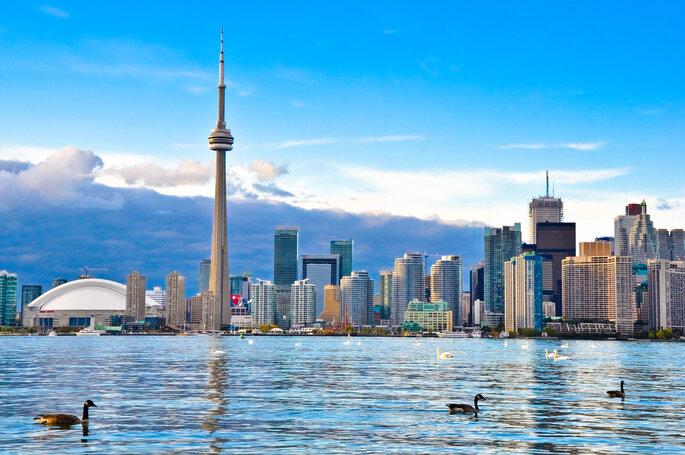 Luna de miel en Canadá (Toronto) - Shutterstock
