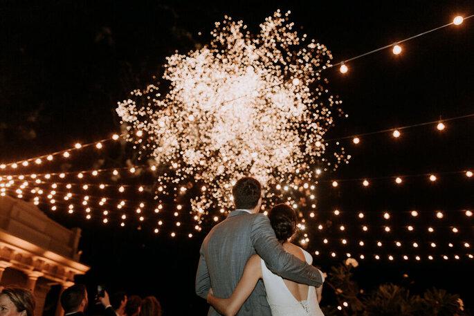 Caribe Cordial Weddings fuegos artificiales boda