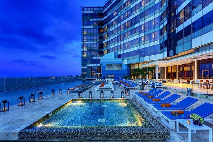 Hotel InterContinental Cartagena de Indias terraza para bodas