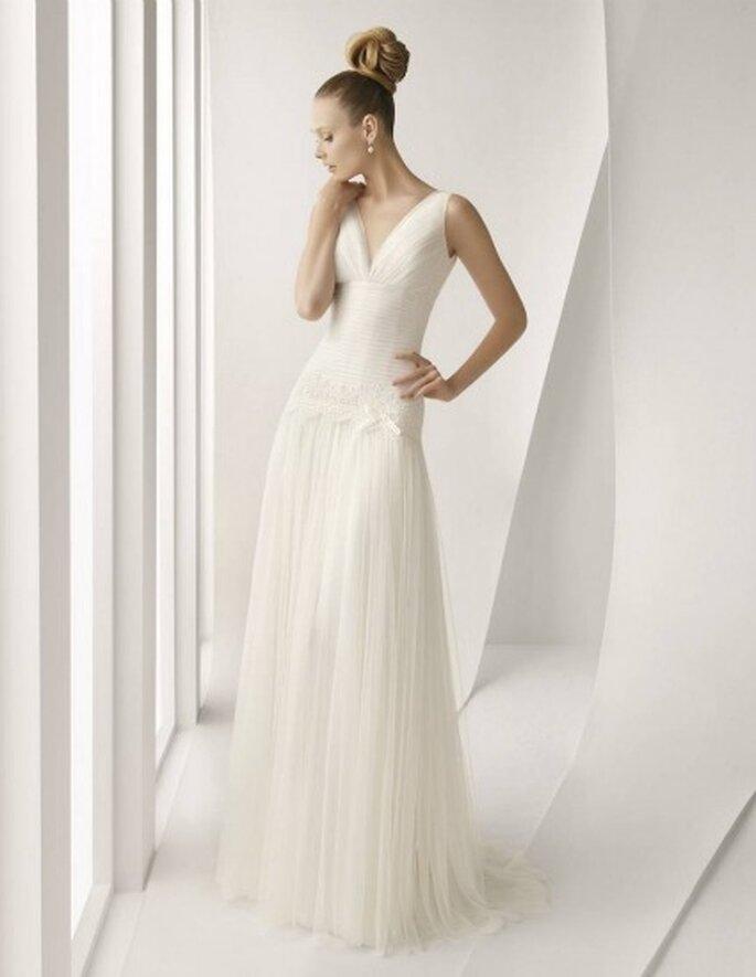 Vestidos de novia Rosa Clará 2012 - Modelo Actual