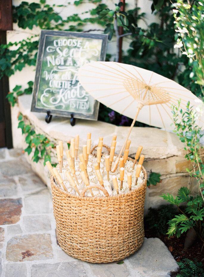 15 ideas súper ingeniosas para una boda al aire libre - Ray Kang