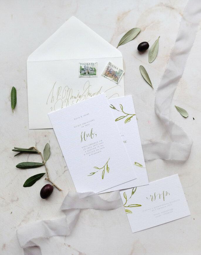 Toskania zaproszenie Love Prints