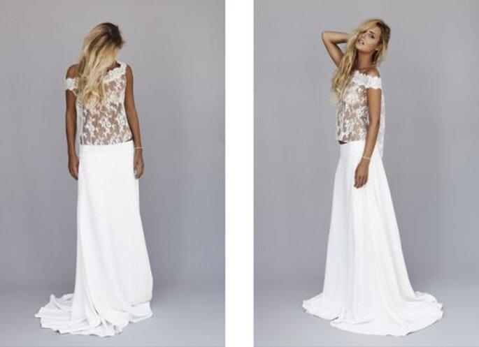 HIPPIE HOCHZEITSKLEID  Dekoration Mode Fashion