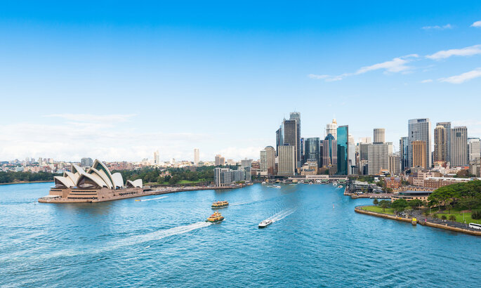 Australia luna de miel
