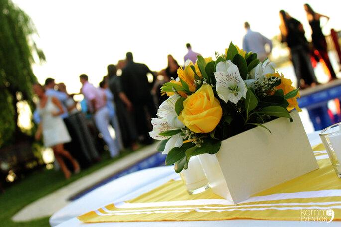 Ceremonia civil. Foto: Komma Eventos - Leandro Higuimarán