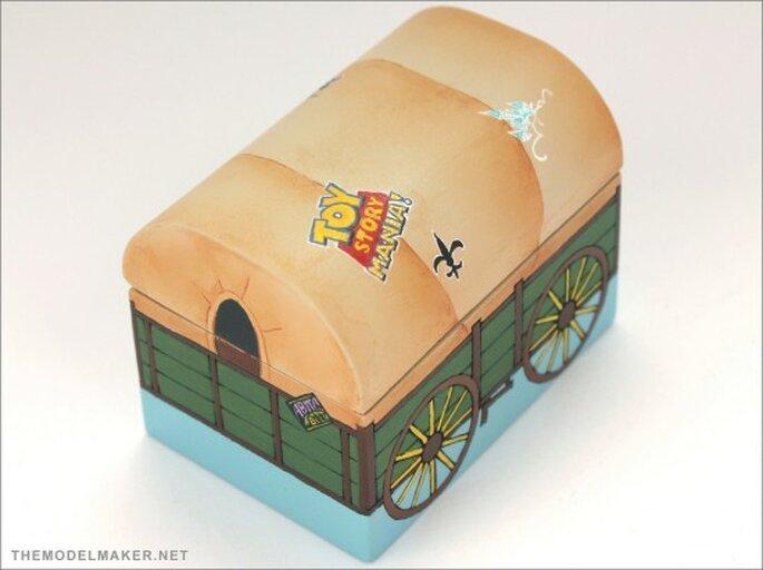 Estuches para anillo de compromiso. Foto de TheModelMaker.net