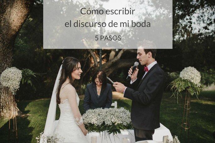 Cómo escribir el discurso de mi boda