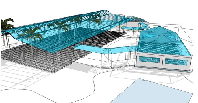 projeto 3D eventos
