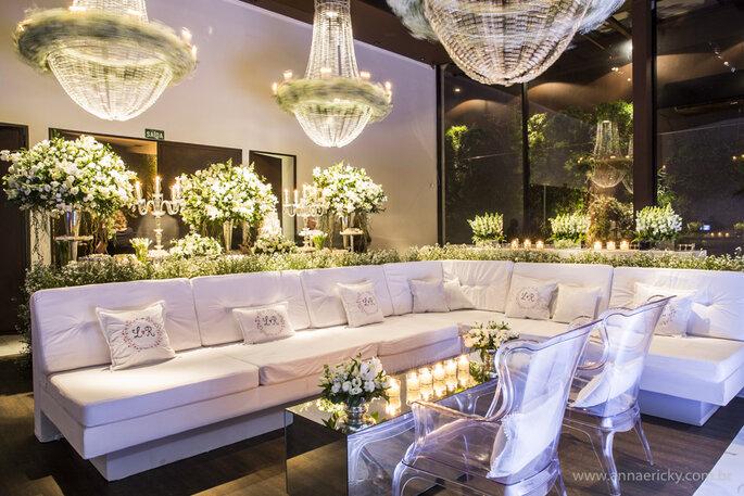 decoração casamento clássico