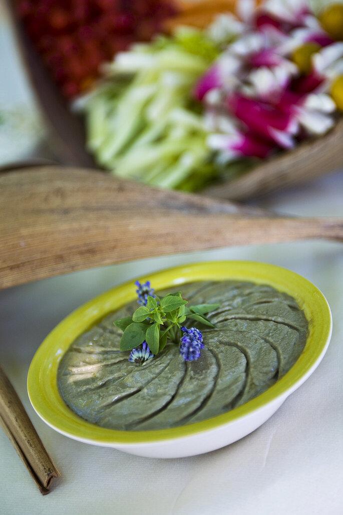 Photo : Pistou et Romarin. Cocktail anchoiade.