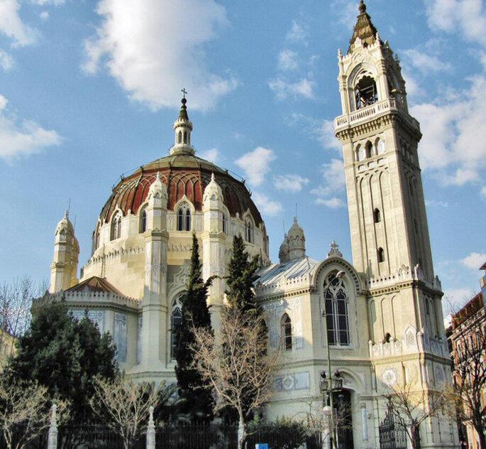 Las 12 iglesias m s bonitas de madrid para casarse for Casarse en madrid