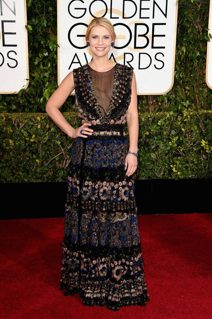 Las mejor vestidas de los Golden Globe Awards 2015 - Valentino (Claire Danes)