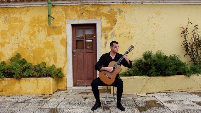 Tiago de Wedding Guitar