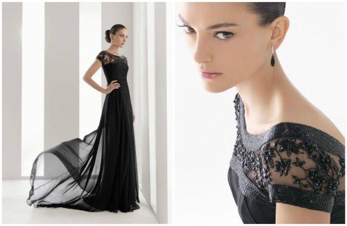 Vestidos de fiesta de Rosa Clará 2012 - Con bordados