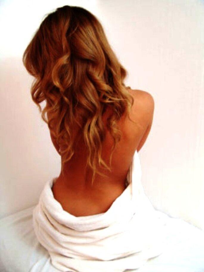 Penteados de noiva com apliques