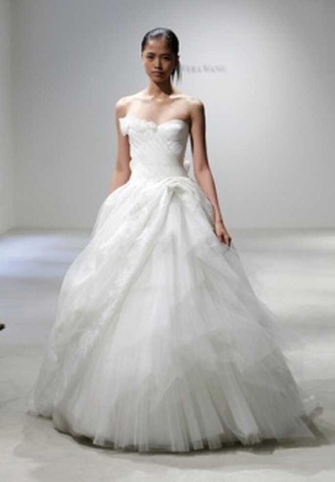 Colección de vestidos de novia Vera Wang 2011