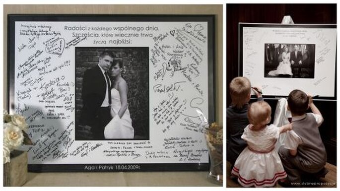 foto plakat na wesele