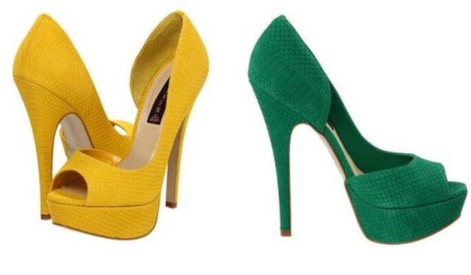 Chaussures de mariée, Steven Amplifyd. Photo de Zappos.com