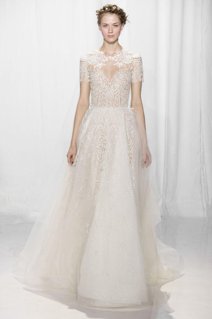 Vestido de novia, Reem Acra.