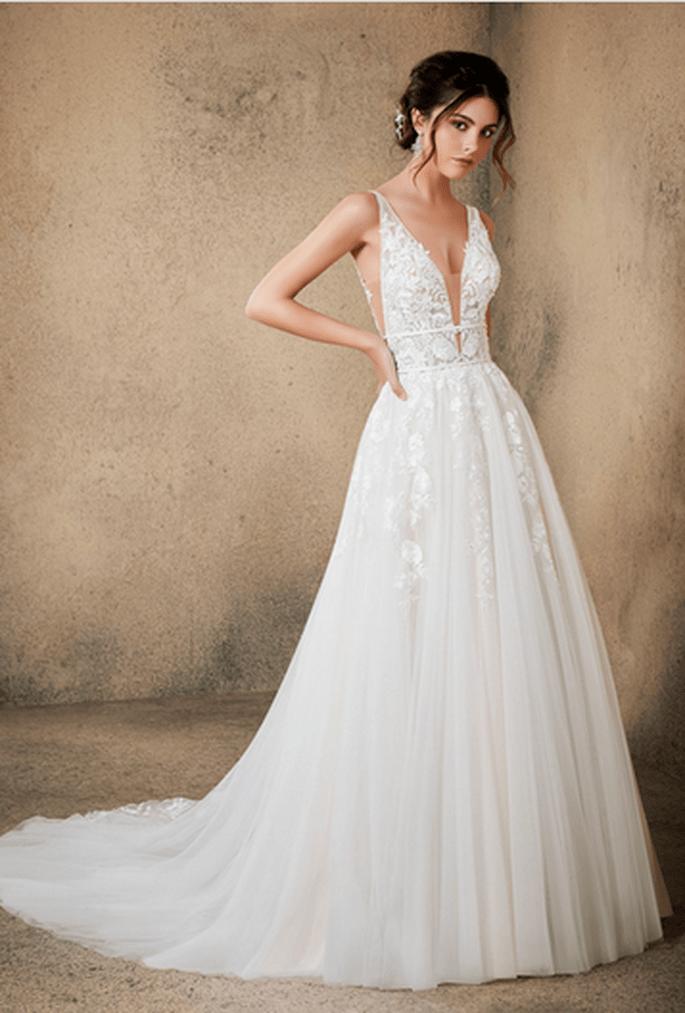 Schlichte Braut
