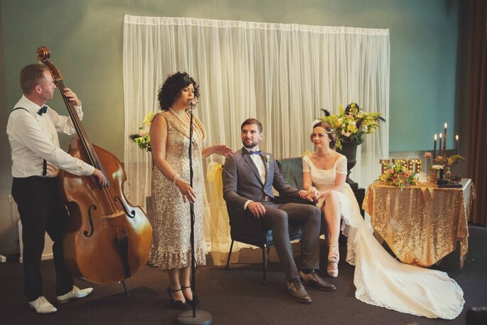 Roaring 20´s thema bruiloft! Foto: Angela Haas Fotografie
