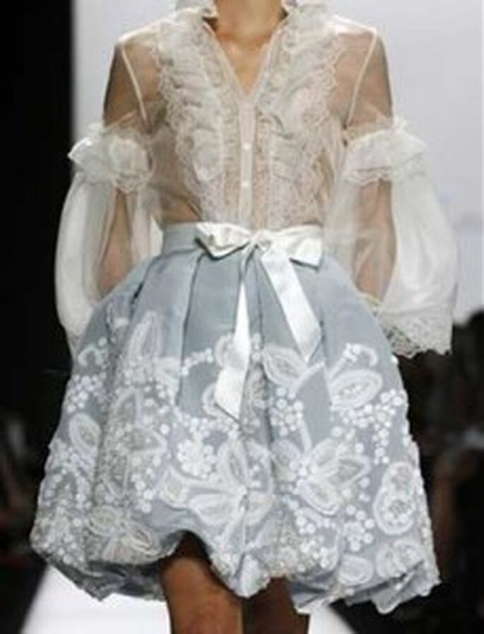 Óscar de la Renta. Vestido de novia 2011