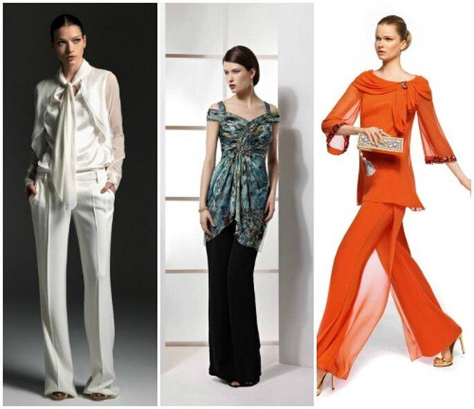 trends f r hochzeitsg ste outfits mit hosen. Black Bedroom Furniture Sets. Home Design Ideas