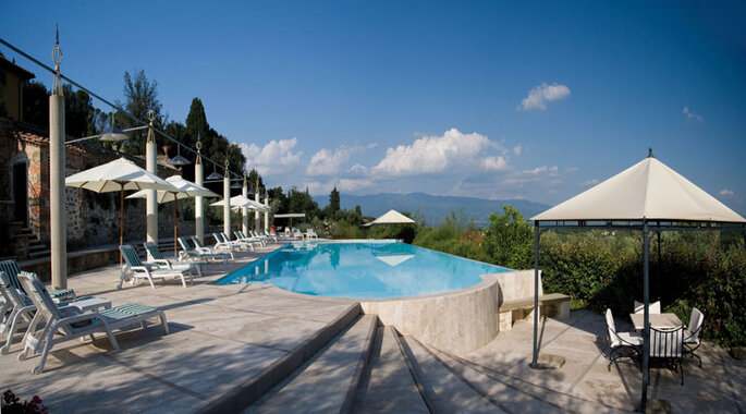Villa La Palagina, Toscane