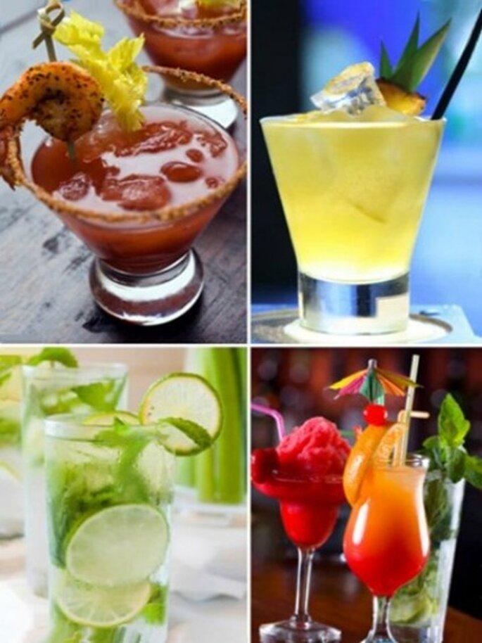 Coordine con la empresa a cargo la variedad de bebidas que ofrecerá