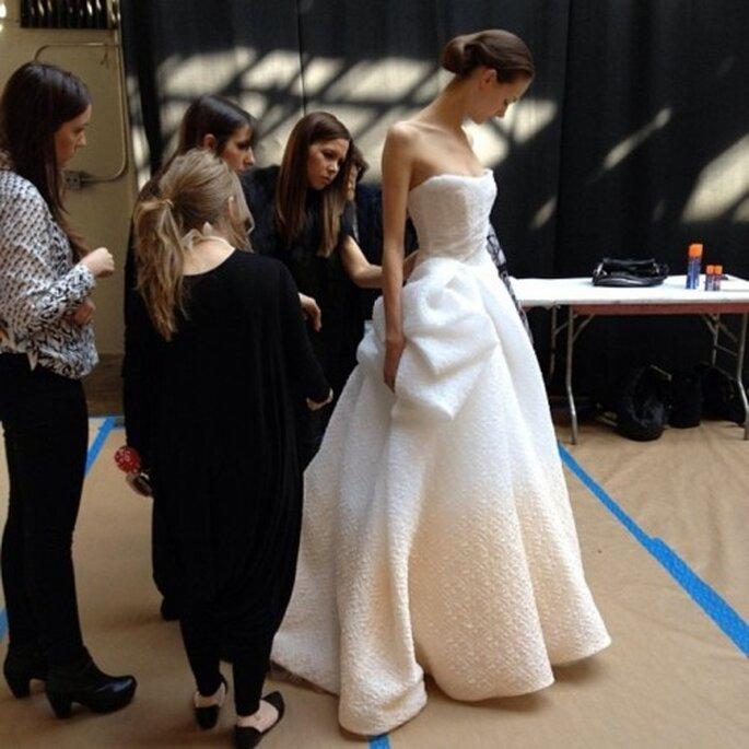 Consejos de la diseñadora Monique Lhuillier para elegir el vestido de novia - Foto Monique Lhuillier