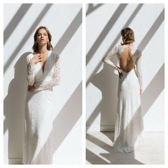 Anna Dautry - Boutique - créateur de robe de mariée - Paris