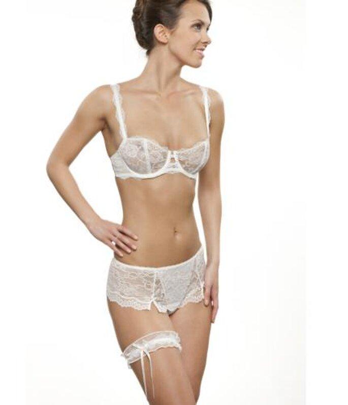 Sexy Lingerie für die Hochzeitsnacht Chantelle eternellemain, www.chantelle-onlineshop.de